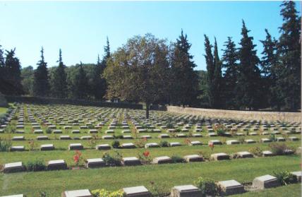 War Graves at the Doiran Memorial (David Chandler)