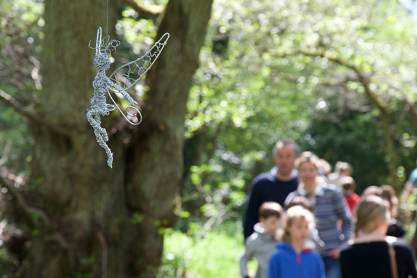 Wirework fairies danced from the branches