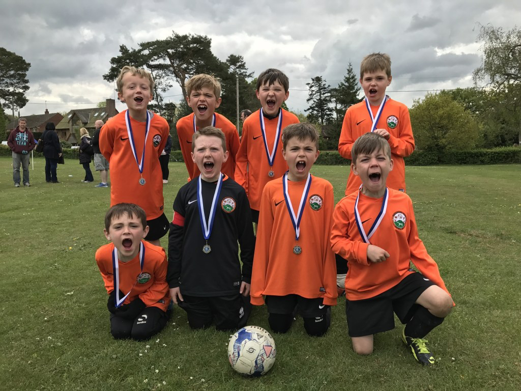 MYFC U8s - Runners Up at Cold Ash