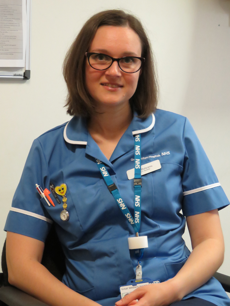 Staff Nurse Lili Baleanu
