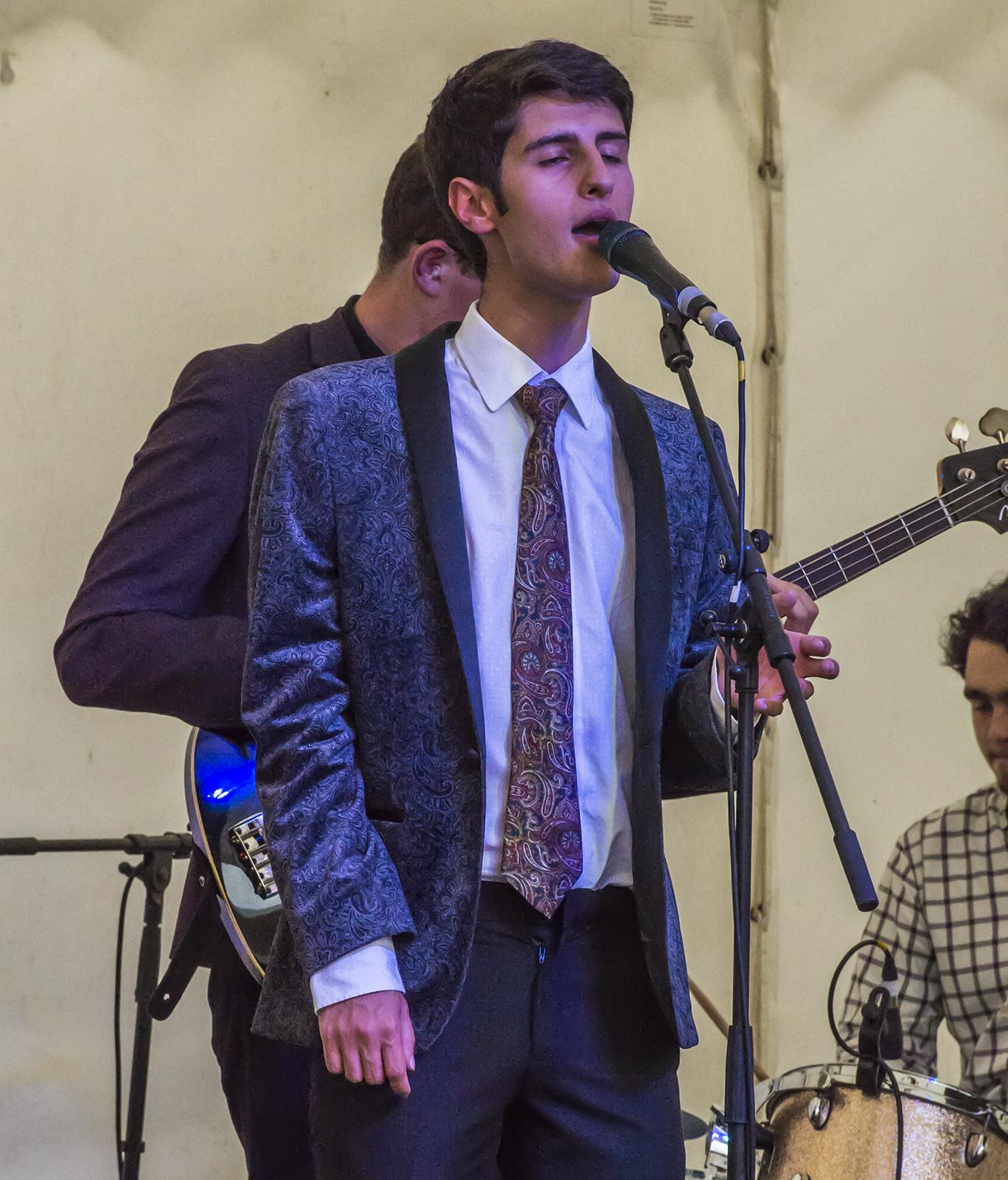 Ben Cipolla at last year's Marlborough International Jazz Festival