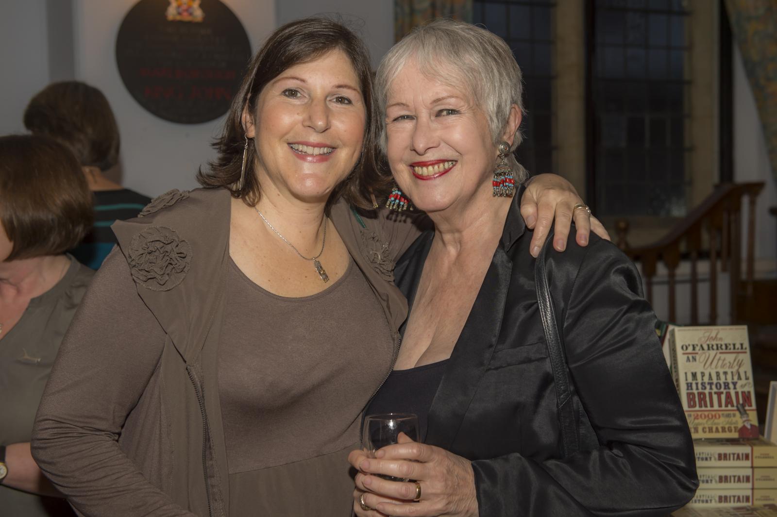 Vanessa Lafaye with former Mayor of Marlborough Edwina Fogg