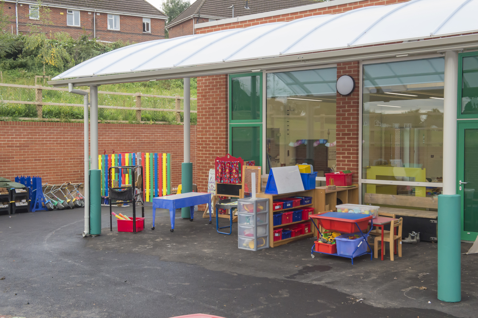 Outside 'Robin' classroom