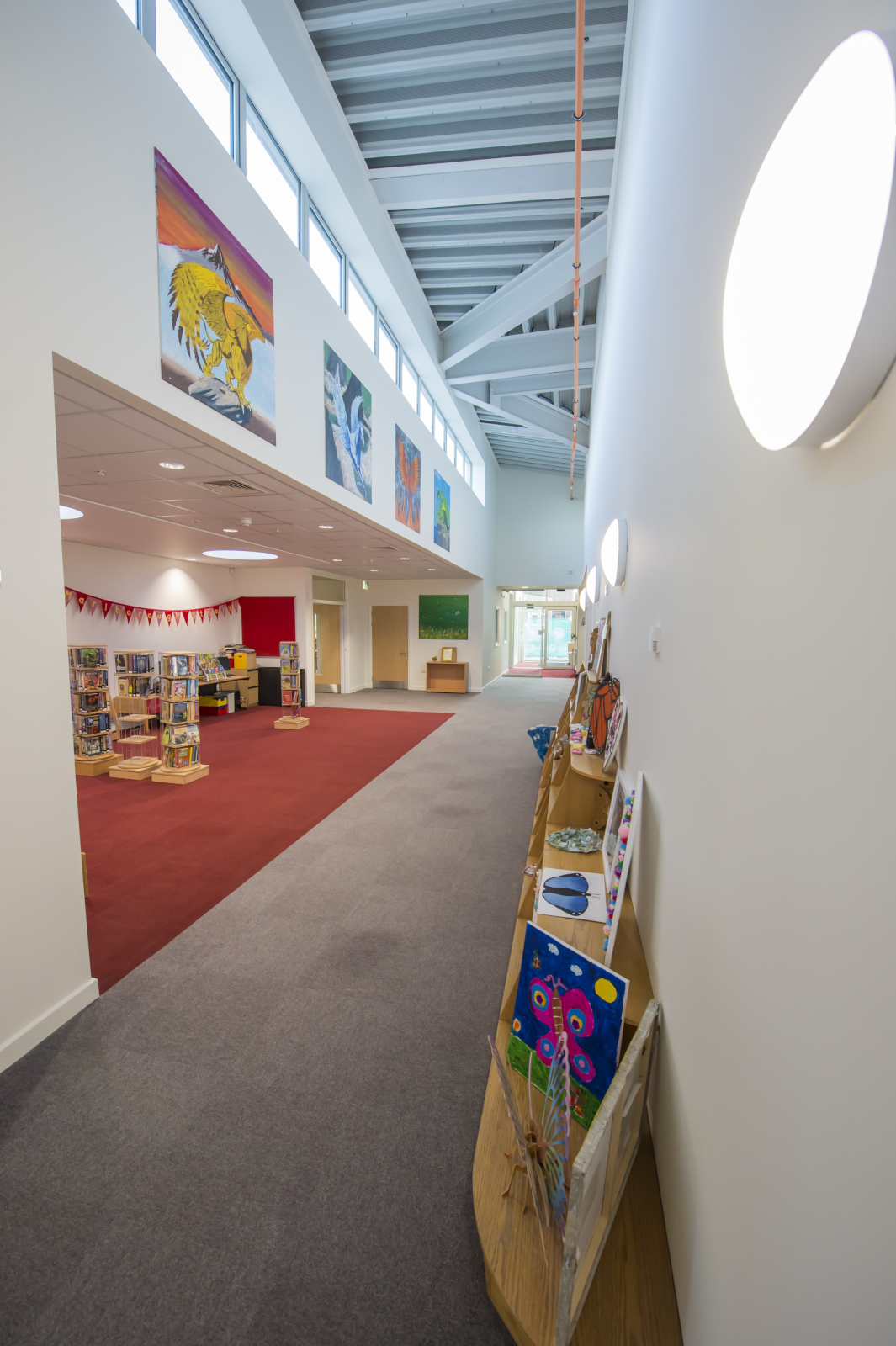 Reception and Library