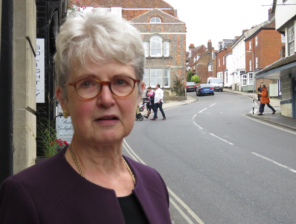 Judy Carver in Kingsbury Street - which was Miss Dawlish's house?