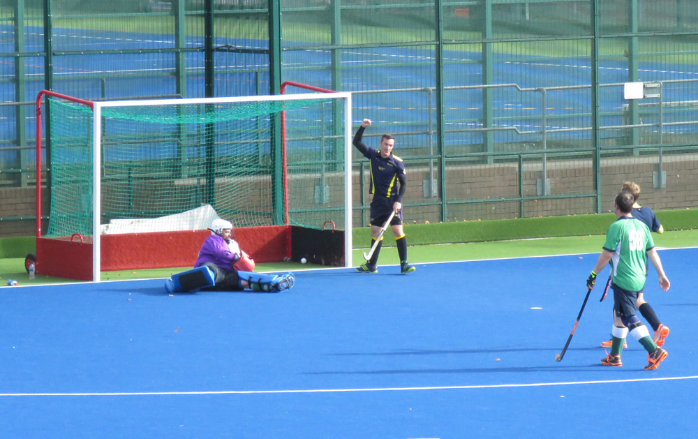 And that's a goal for bath Buccs