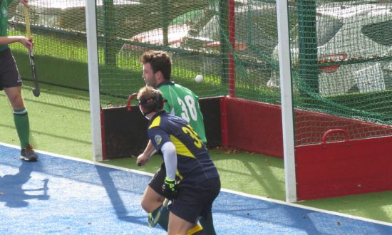 MHC Men's second team: surely this is going into the Bath Buccs net...[see below]
