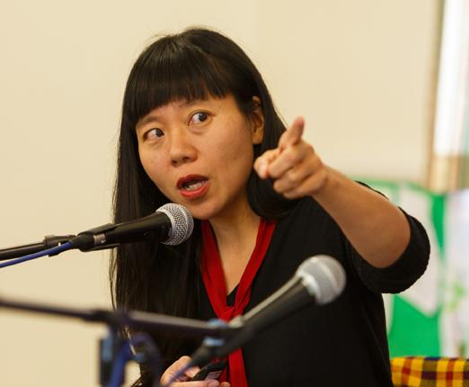 Xiaolu Guo (Photo copyright Ben Phlilips)