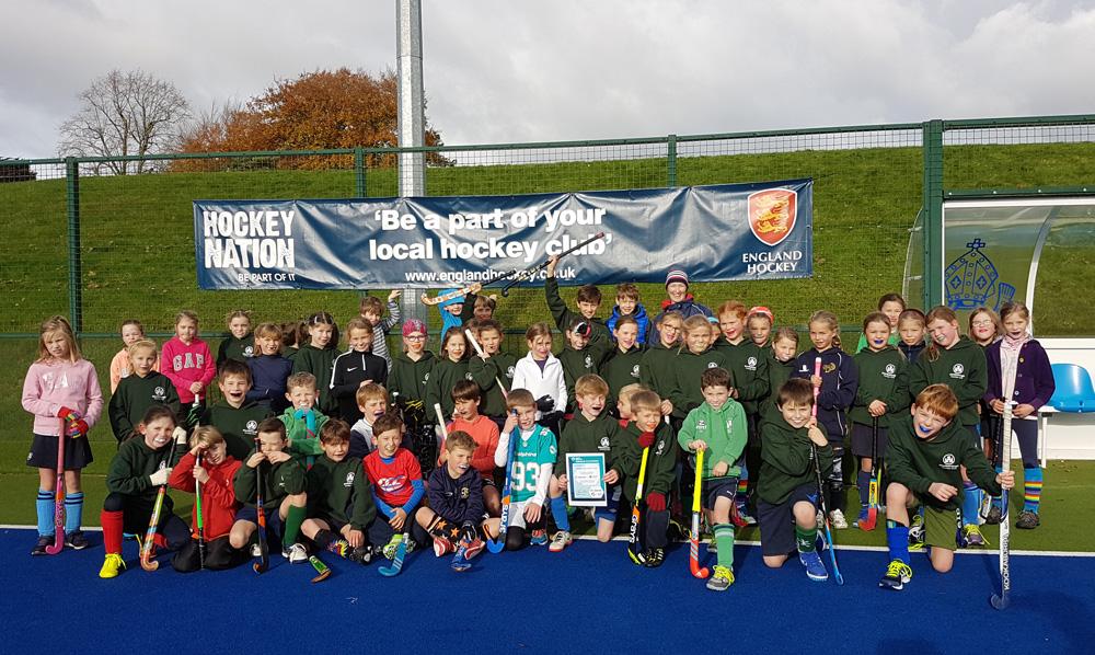 The class of 2017: Marlborough Hockey Club's U8-U9 girls & U10 boys
