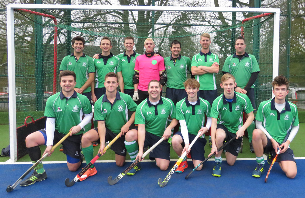 Front: James Richardson, Matt Osborne, Richard Holman, Alex Renwick, Ollie Davies, Rhys Davies.  Back row:  Anil Sud, John Bromley, Rich Fynn, Aaron Holloway, Chris Jones, John Berry, Mark Ramage