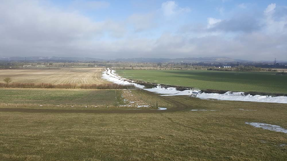 Everleigh Road from Pewsey Hill
