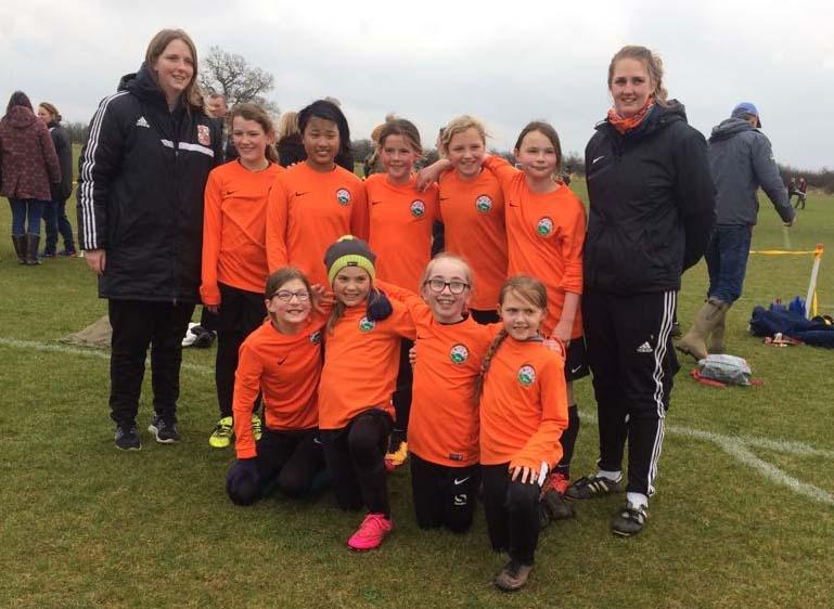 'Marlborough Foxes' - MYFC Angels' U11 semi-final winning team