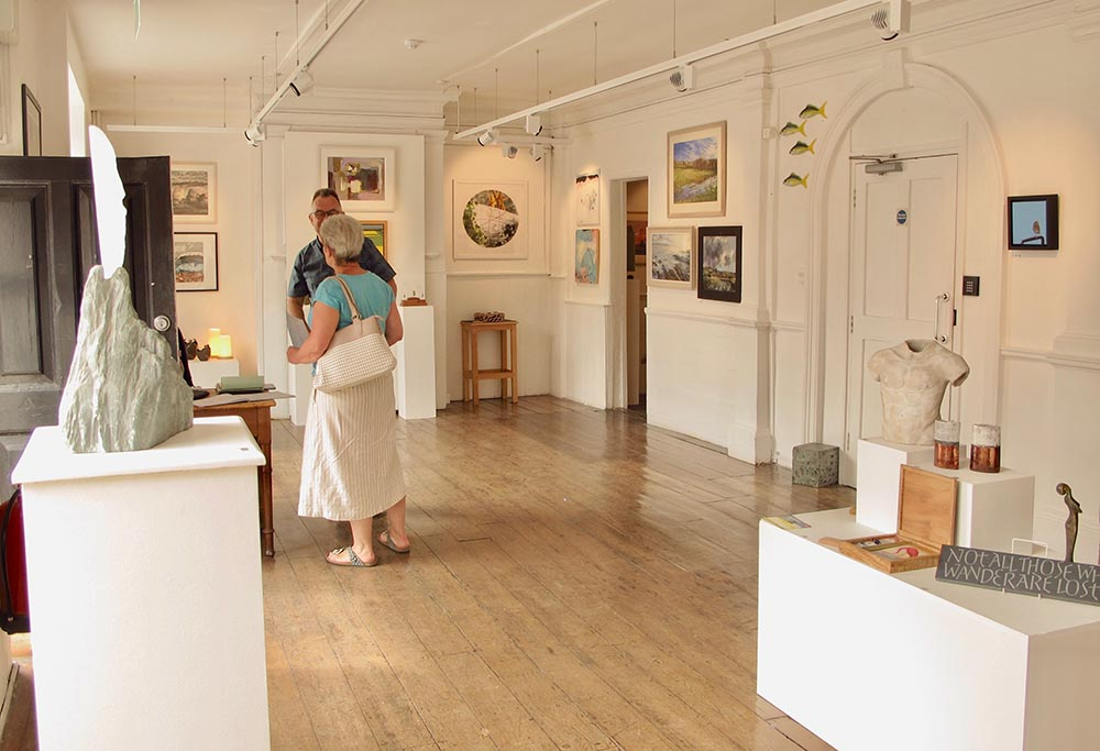 Marlborough Open Studios preview show at the Mount House Gallery