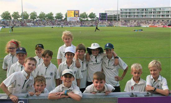 Champion cricketers Marlborough U11s
