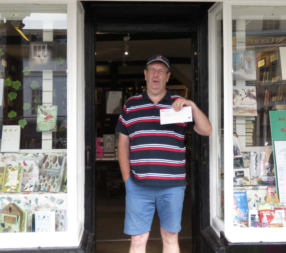 Andy Gardener - with David Walliams tickets