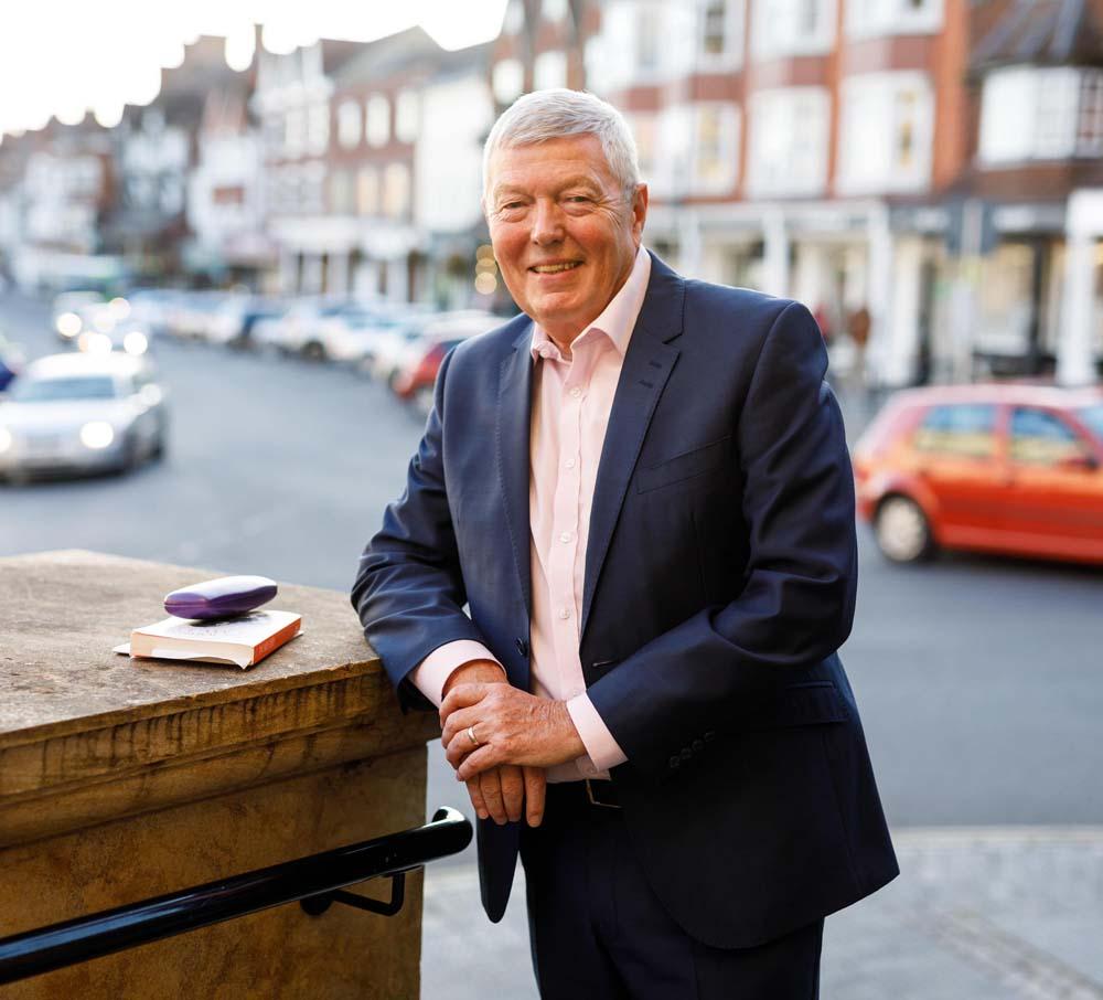 Alan Johnson at the Town Hall (Photo © Ben Phillips)