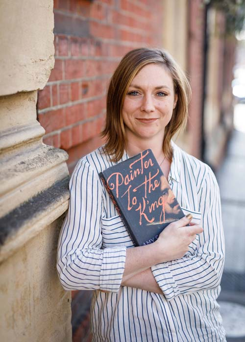 Amy Sackville...& her novel (Photo © Ben Phillips)