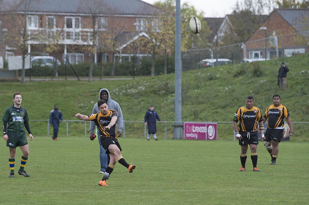 Will Grant slotting over a 30m penalty