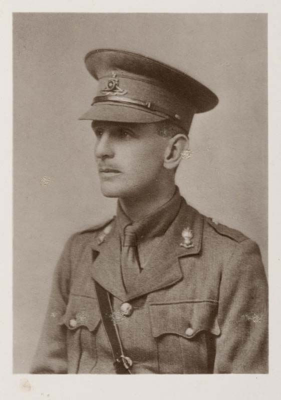 Major Edmund Hamilton Giffard (13 May 1887-10 November 1918) (Photo by kind permission of Marlborough College)