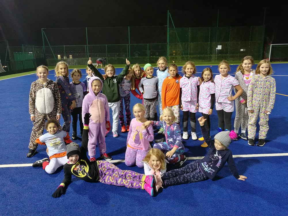 Angels in Pyjamas for training session