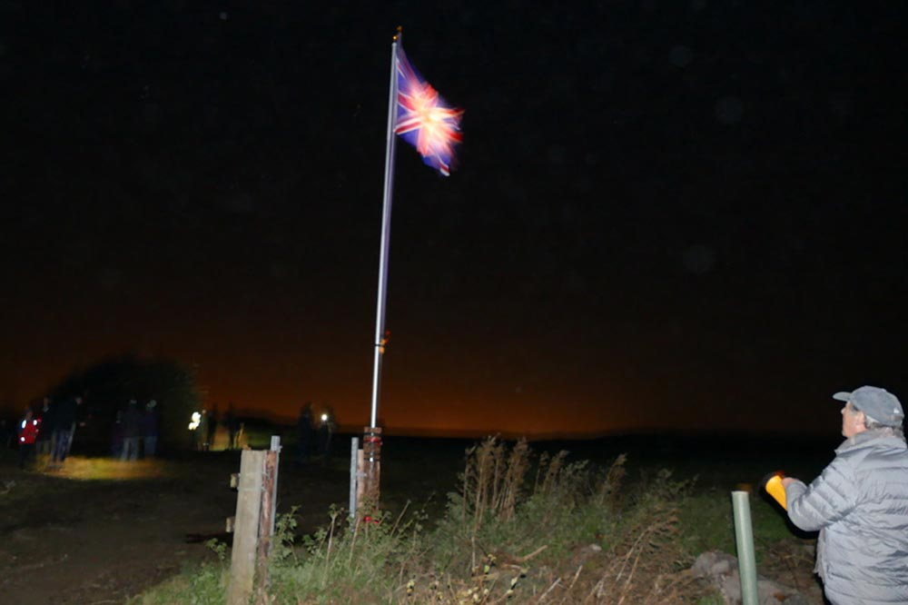 Ken Carter shines a light on the Union Jack Flag