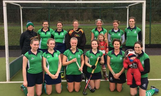 Marlborough Hockey Club Ladies second team - and supporters