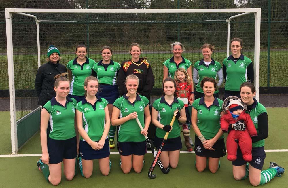 Marlborough Hockey Club Ladies second team - and supporters