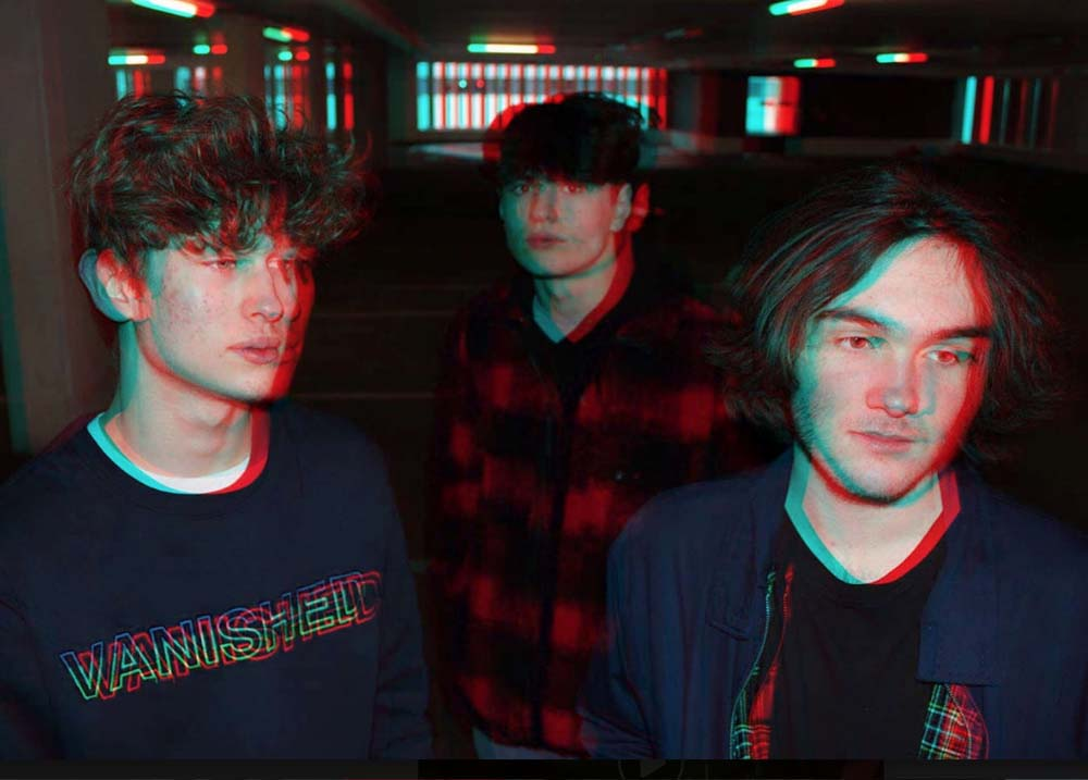 Kaleido Bay - from their Facebook pages - l to r: Ben Kay, Jake Gribben & Harry Grace