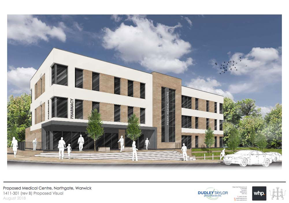 From the planning application to Warwick District Council