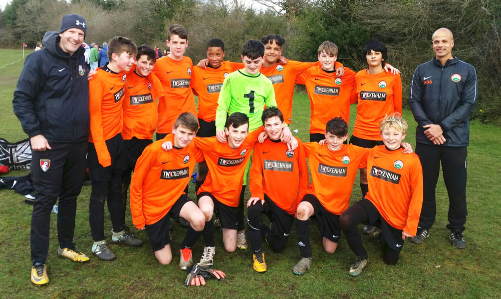 New North Wilts Youth League Division 2  Champions - MYFC U14 Mavericks