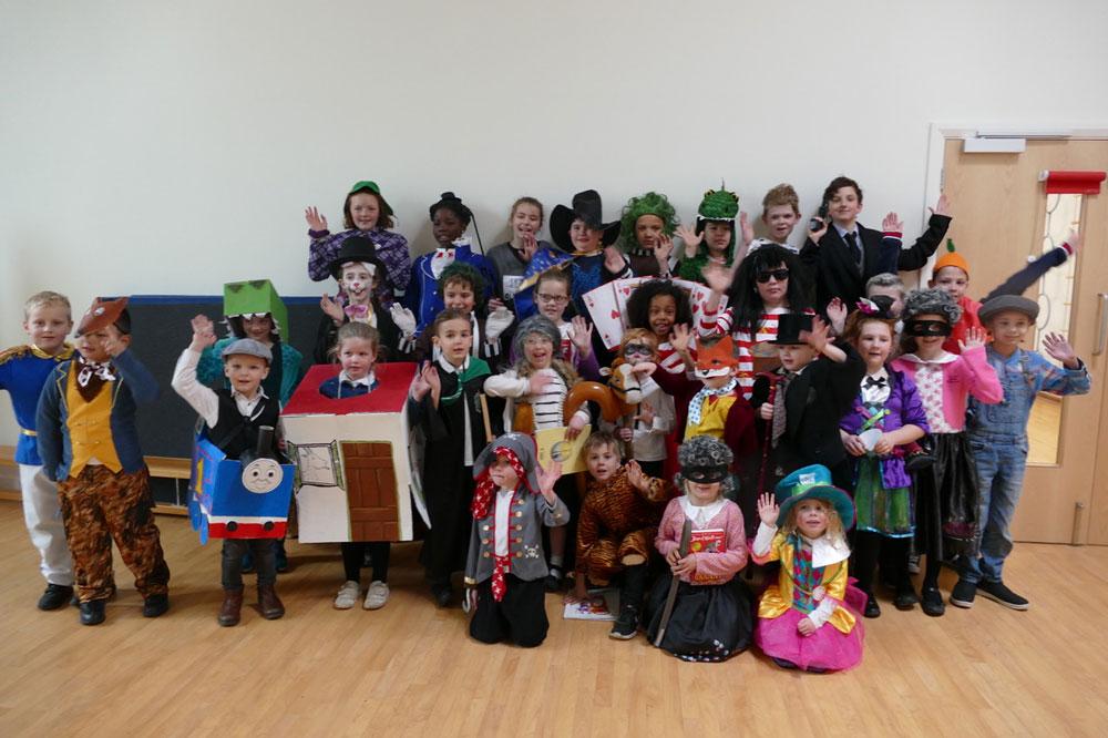 Marlborough St Mary's pupils celebrate World Book Day