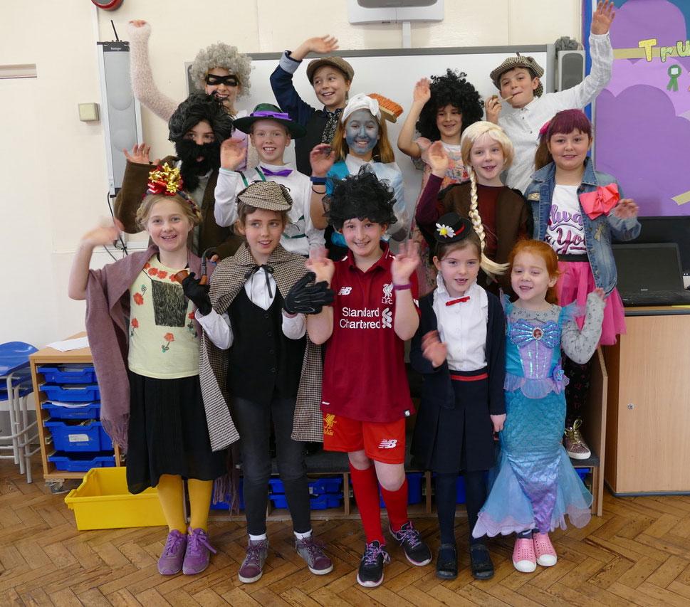 Preshute pupils enjoy World Book Day