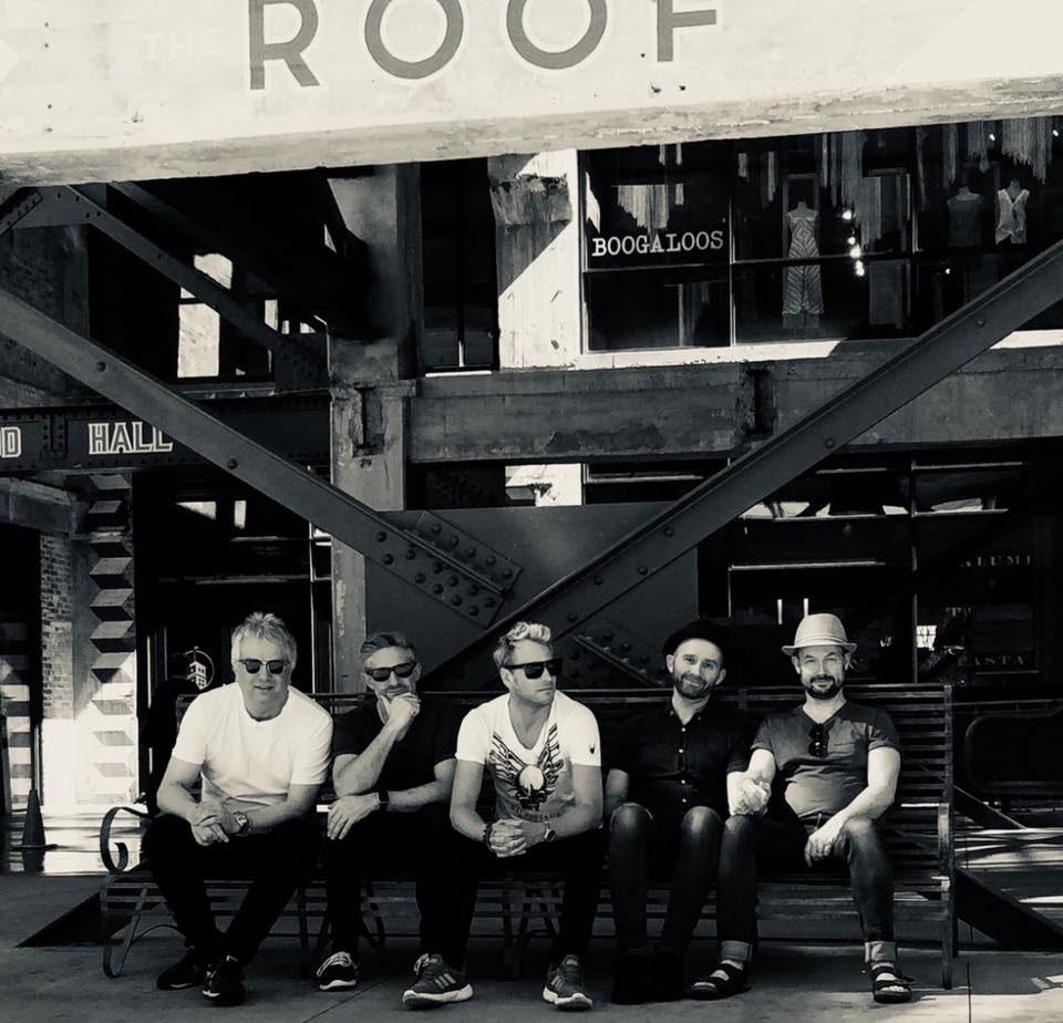 Rick Parfitt Jnr's RPJ Band who will be headlining the MRFC Summer Ball in Marlborough College's Norwood Hall