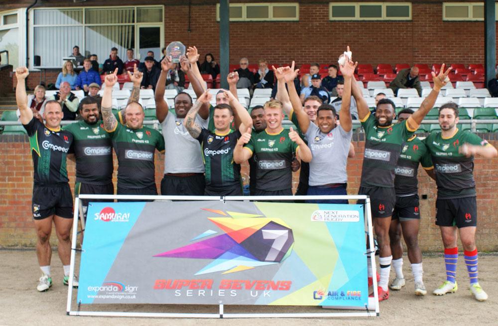 Marlborough's successful Compeed 7s team