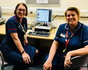 GWH's Claire Barker and Helen Booth have been involved in developing the AAAE module since day one, and they have been working with the University of Northampton to ensure national standards are met
