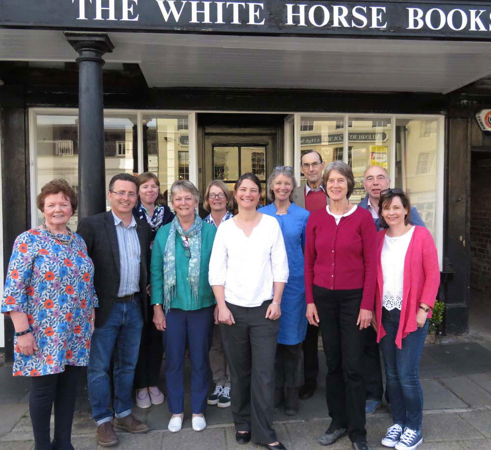 The Marlborough LitFest 2019 committee (See below for names)