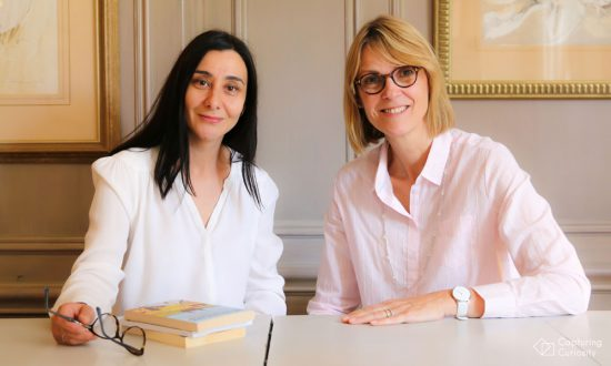 Maria Gonzalez and Sophie Van de Woestijne, founders of The Marlborough School of Languages