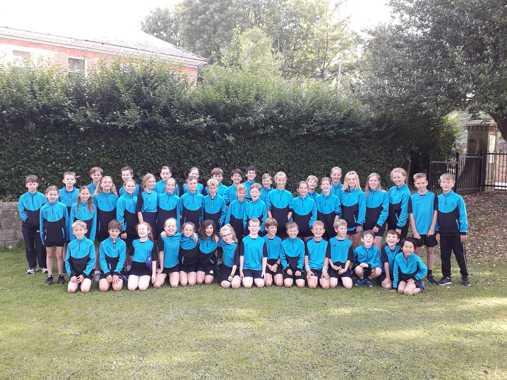 Ramsbury Key Stage 2 pupils who participated in The School Games at Marlborough College on July 10