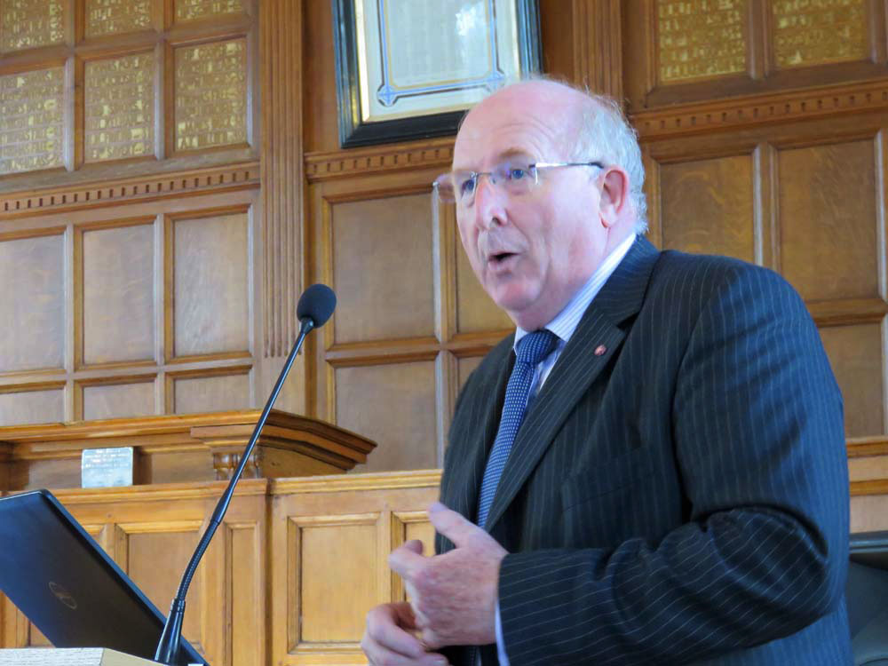 Police & Crime Commissioner for Wiltshire & Swindon - Angus Macpherson [file photo]
