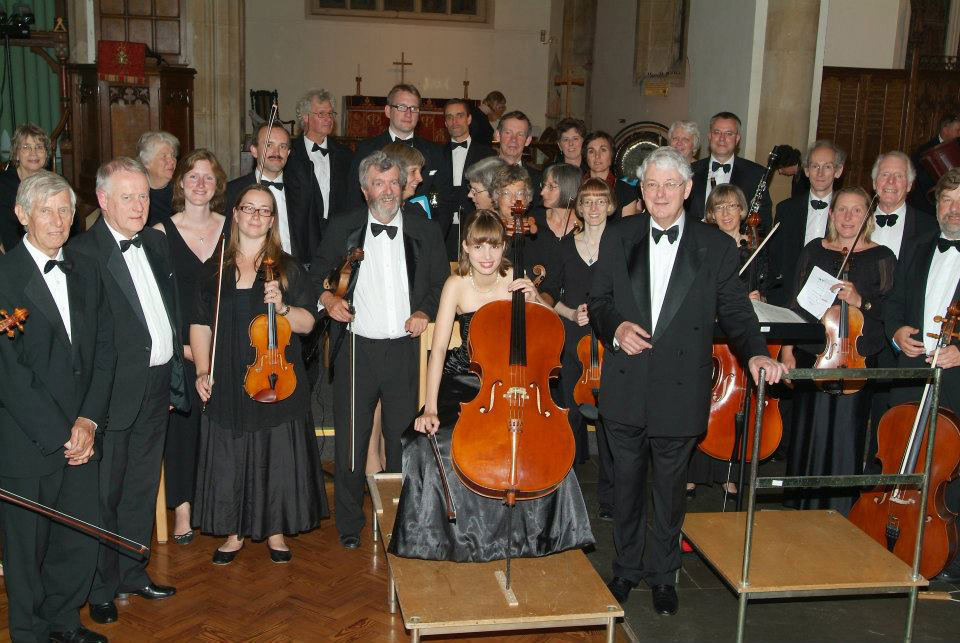 Christopher Irby with Irene Enzlin and the MArlborough Concert Orchestra in 2011