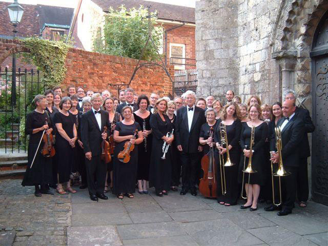 Christopher Irby with the Marlborough Concert Orchestra