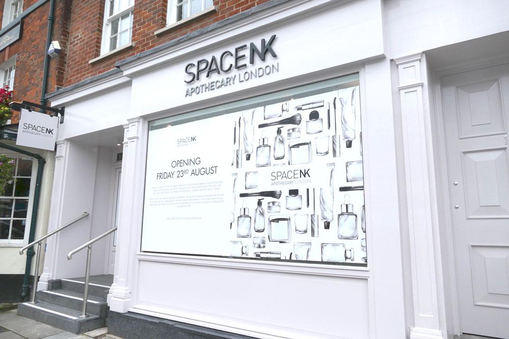 SpaceNK - opening soon next door to The Green Dragon