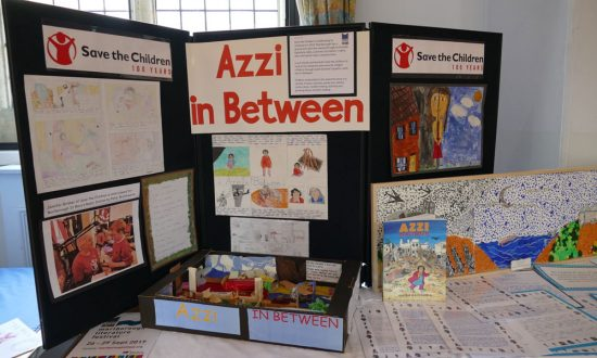 'Azzi in Between' exhibition in the Town Hall