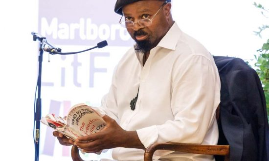 The Golding Speaker: Ben Okri (Photo copyright Ben Phillips)