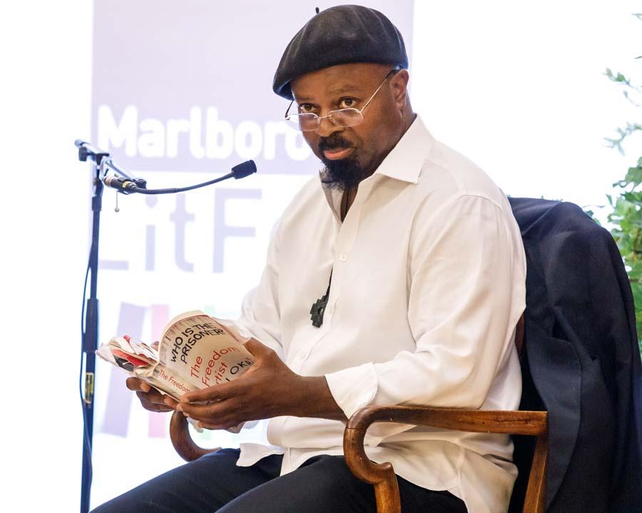 The Golding Speaker: Ben Okri  (Photo copyright Ben Phillips)