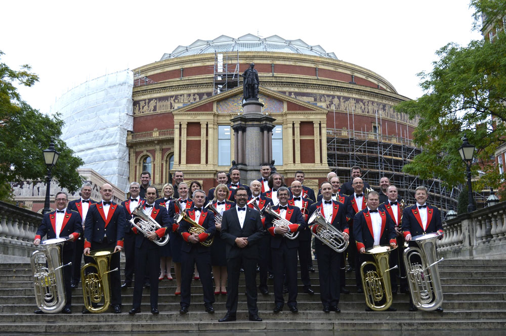 Aldbourne Band at the Albert Hall
