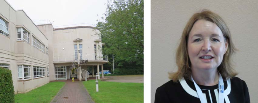 Wiltshire CCG's HQ & Tracey Cox