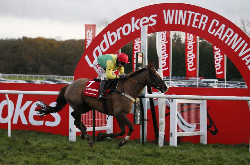 Sizing Tennessee - with Tom Scudamore - winning the 2018 Ladbrokes Trophy