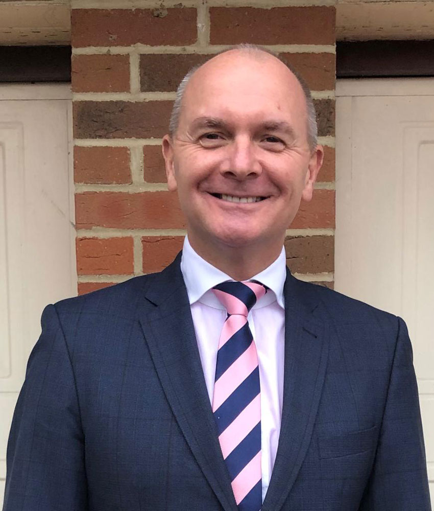 Jeremy Tomlinson, new CEO of England Golf