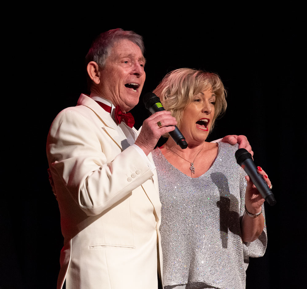 Judith Sharp and Ray Dance at last year's sell-out concert